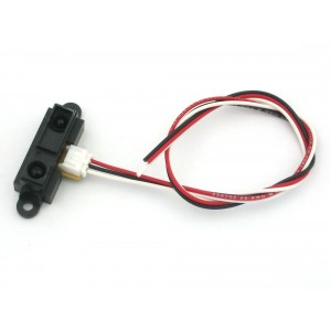 IR distance sensor includes cable (10cm-80cm) - GP2Y0A21YK0F