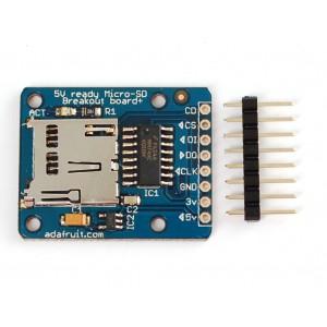 MicroSD card breakout board+