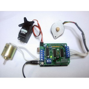 Motor / Stepper / Servo Shield for Arduino kit - v1.0