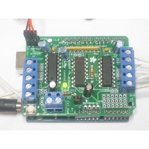Motor stepper servo shield for arduino kit v
