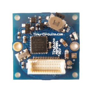 TinyDuino Processor Board - ASM2001-R-B - With Battery Holder