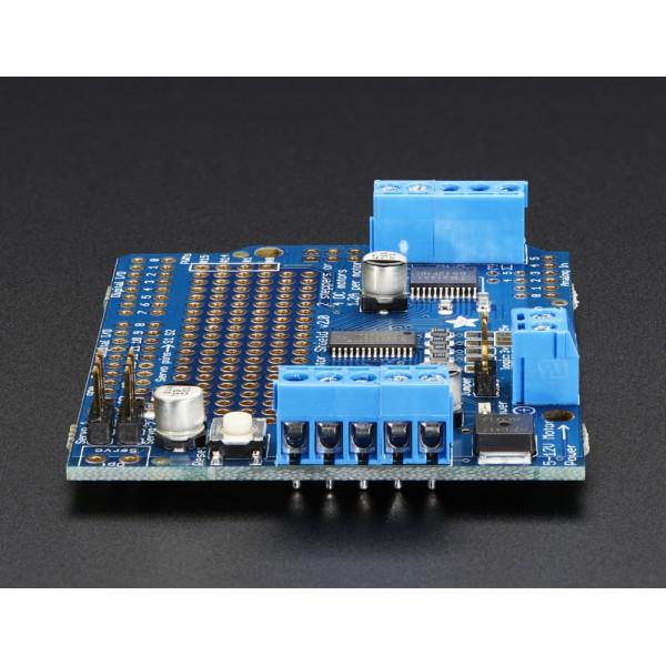 ... Adafruit Motor/Stepper/Servo Shield for Arduino v2 Kit - v2.0 ...
