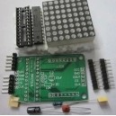 MAX7219 LED Matrix breakout board for Arduino or micro-controllers