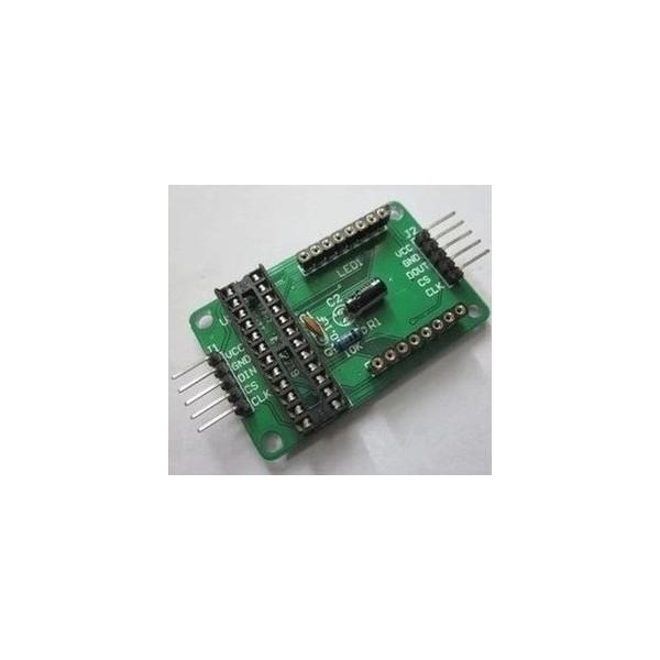 MAX7219 LED Matrix breakout board for Arduino or micro