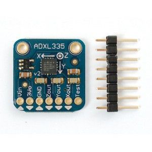 ADXL335 - 5V ready triple-axis accelerometer (+-3g analog out)