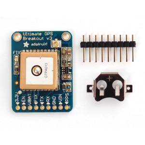 Adafruit Ultimate GPS Breakout - 66 channel,10 Hz updates - v3