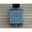 Adafruit Mini 8x8 LED Matrix w/I2C Backpack - Blue -