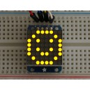 Adafruit Mini 8x8 LED Matrix w/I2C Backpack - Yellow -