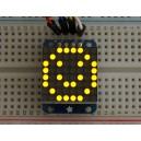 Adafruit Mini 8x8 LED Matrix w/I2C Backpack - Yellow -