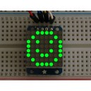 Adafruit Mini 8x8 LED Matrix w/I2C Backpack - Green -