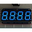 "Adafruit 0.56"" 4-Digit 7-Segment Display w/I2C Backpack - Blue -"