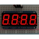 "Adafruit 0.56"" 4-Digit 7-Segment Display w/I2C Backpack - Red -"