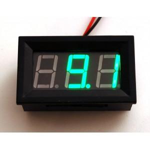 Panel Volt Meter - 4.5V to 30VDC -