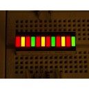 Bi-Color (Red/Green) 12-LED Bargraph - BL-AR12Z3010DUG-11