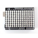 LoL Shield WHITE - A charlieplexed LED matrix kit for Arduino - 1.5