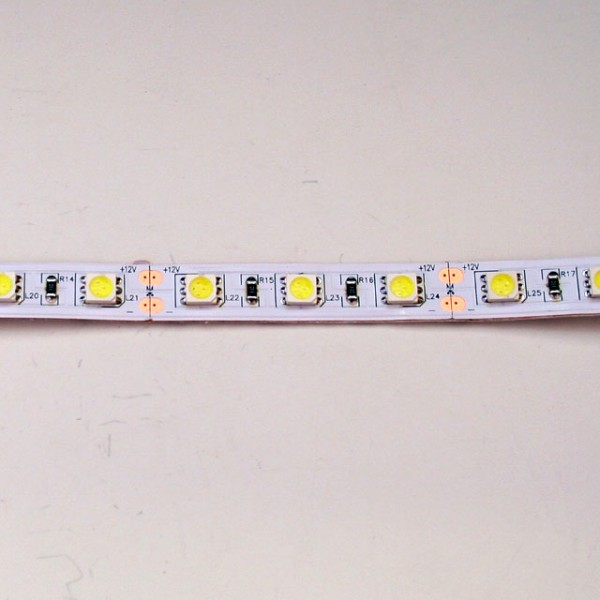 Flexible 5050 Smd Led Strip Lighting Non Waterproof