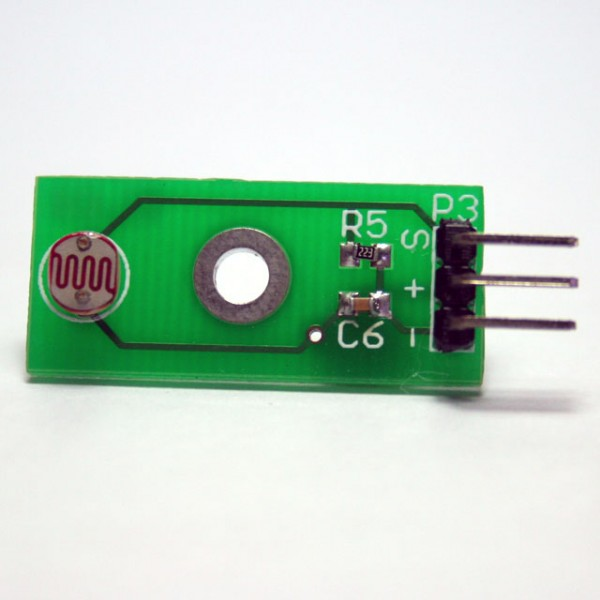 Simple Light Sensor for Arduino - Singapore - 3E Gadgets Pte Ltd